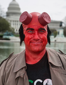 John Barclay as Hellboy