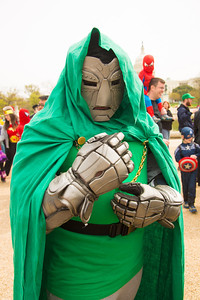 Tyger as Dr. Doom