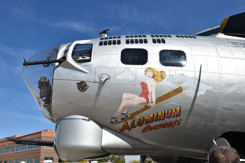 B-17 Aluminum Overcast