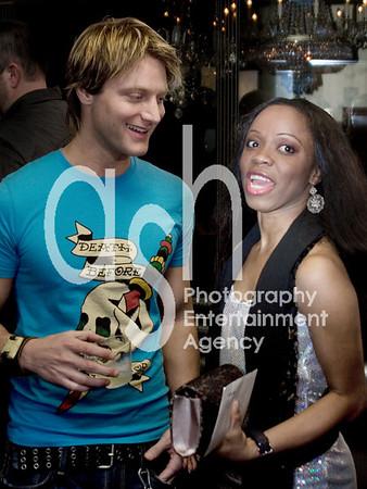 Bryan Oroyn and Publicist Charmaine Blake