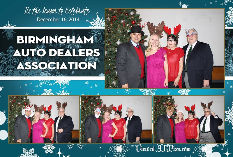 Birmingham Auto Dealers Association Holiday Party 2014