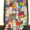 Debbie Blank | The Herald-Tribune<br /> A state flag created by Batesville Primary School students will be displayed downtown Sept. 17.