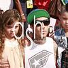 Musician Travis Barker and Children