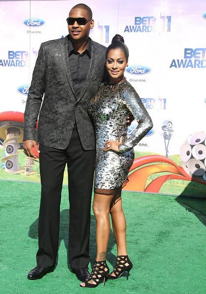 BET Awards 2011 Los Angeles, CA, Carmelo and Lala Anthony
