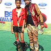 BET Awards 2011 Los Angeles, CA  Willow and Jaden Smith