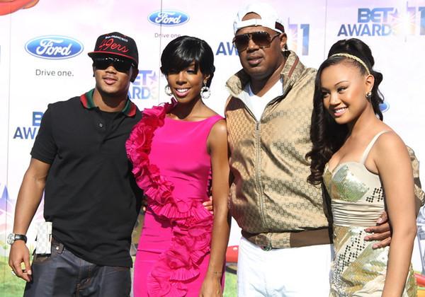 BET Awards 2011 Los Angeles, CA, Romeo, Kelly Rowland, Master P