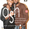 """Damion Hall, recording artist, """"Guy"""" and son Sergio"""