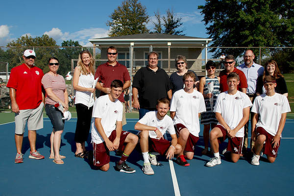 BHSN Tennis - Senior Night [Sept 2018]