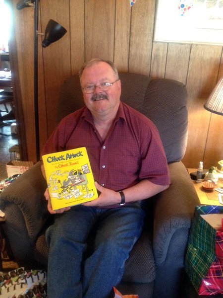 CHUCK AMUCK<br /> I also got a book about the career of one of my favorite catroonists, Chuck Jones, of Looney Toons fame. This guy did Bugs, Daffy, Foghorn Leghorn, Martin the Martian, etc. What a talent.