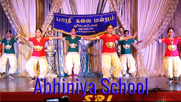 Part 2 - Dance Fusion by Abhinaya School of Performing Arts [hd 4mins]