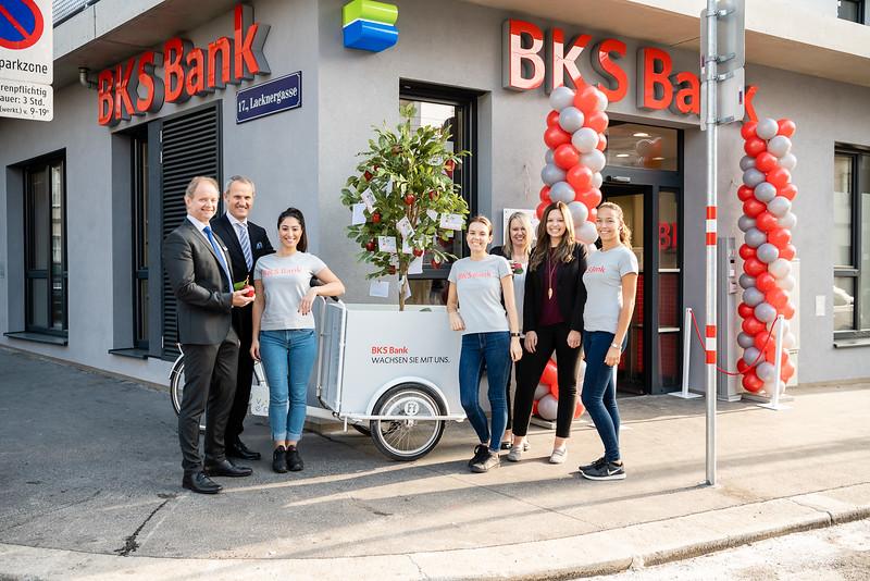 BKS Bank Opening - Oktober 2018