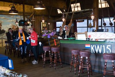 NK Veldloop voor Gemeenteambtenaren 2008. In en om sportcomplex Nieuw Zuid. Sponsorhome van Quick Boys.