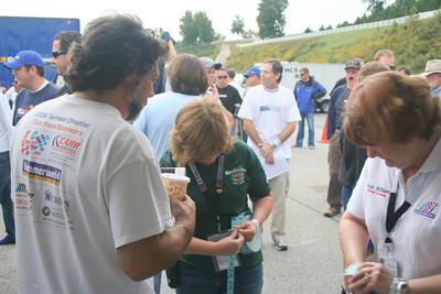 Oktoberfest '09 Club Racing awards presentations