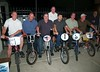 Stu Thompson, Harry Leary, David Clinton, standing, Brian Patterson, Bobby Encines, Greg Hill, Brent Patterson, Bob Osborn