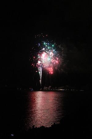 BR Fireworks on Mississippi 7-4-13