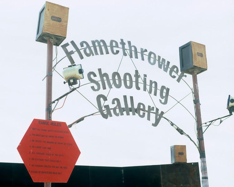 Flamethrower Shooting Gallery