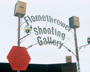 Flamethrower Shooting Gallery