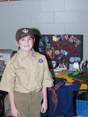 Simon, Boy Scout