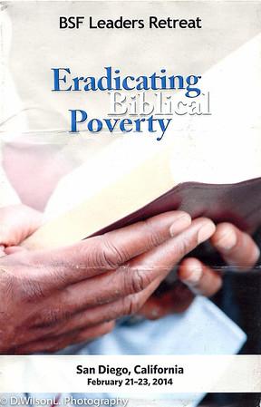 BSF Eradicating Biblical Poverty 2014