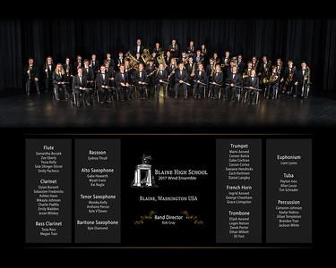 Blaine HS Wind Ensemble 2017