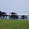 Battle of Bull Run - Caissons on Battlefield