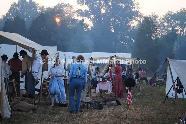 Battle of Bull Run - Camp Followers