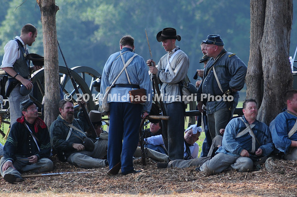 Battle of Bull Run - Confederates