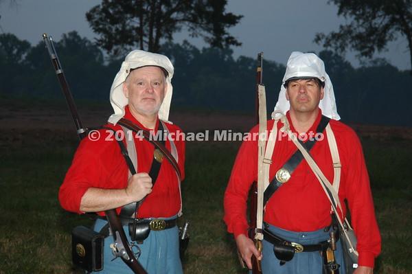 Battle of Bull Run - The Red Shirt Sickles Brigade