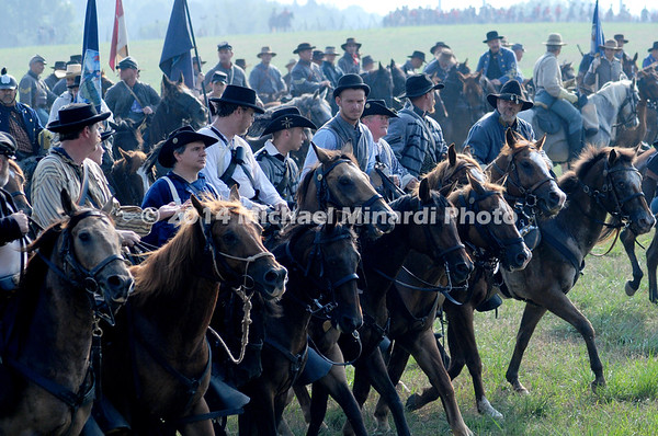 Confederate Cavalry - Battle of Bull Run