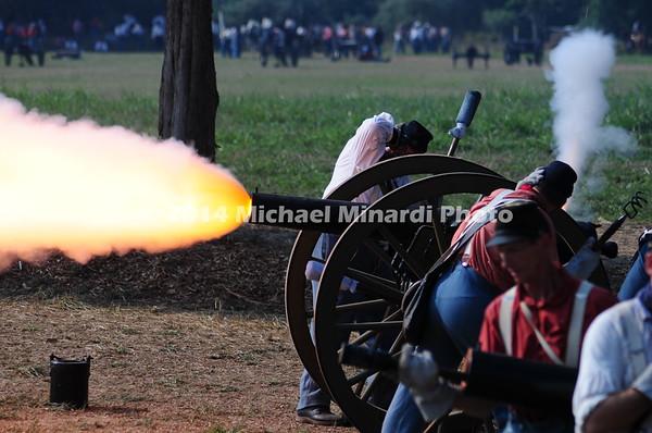 Battle of Bull Run -  Cannon Fire