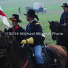 Battle of Bull Run - Union Cavalry Officer close up