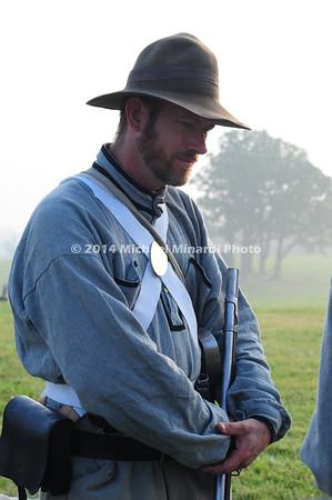 Battle of Bull Run - Soldier - 4th Reg't Virginia Inf, Co A