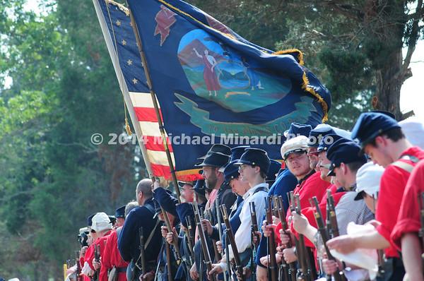 Battle of Bull Run - Union Soldiers of Michigan's Sickles Brigade