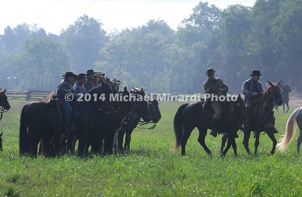 Battle of Bull Run - Confederate Cavalry