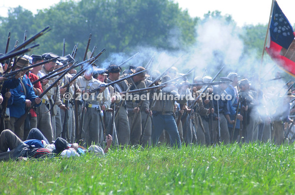 Battle of Bull Run - Confederates Skirmish Line