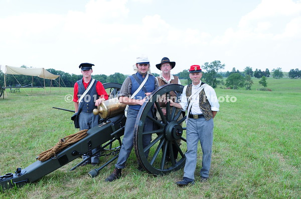 Battle of Bull Run - Cannoneer Team