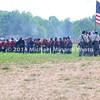 Battle of Bull Run - Union Soldiers form skirmish line