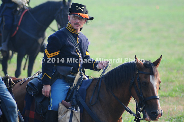 Battle of Bull Run - Corporal of the Union Black Hat Cavalry