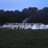 Confederate Encampment at Dawn