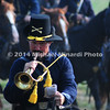 Battle of Bull Run - Union Cavalry Bugler