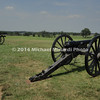 Battle of Bull Run - Cannons on Battlefield