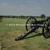 Battle of Bull Run - Cannons on Battlefield