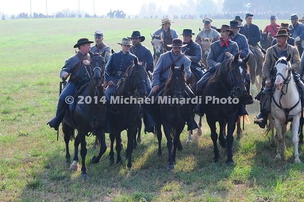 Battle of Bull Run - Confederate Cavalry