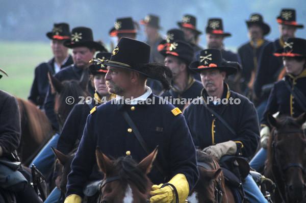 Battle of Bull Run - Union Cavalry - Officer close up