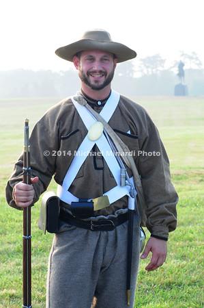 Battle of Bull Run - Confederate Soldier