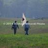 Battle of Bull Run - Signalmen with Flag