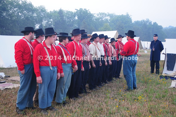 Battle of Bull Run - The Sickles Brigade