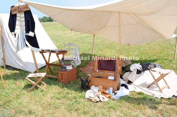 Battle of Bull Run - Food, Lodging, & Clothing for the March