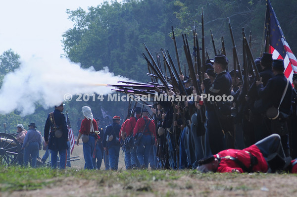 Battle of Bull Run - Wounded Union Soldier