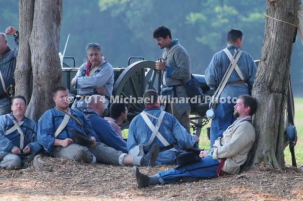 Battle of Bull Run - Confederates - Close up